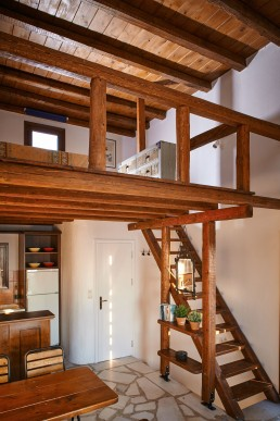 Stair leading to Attic